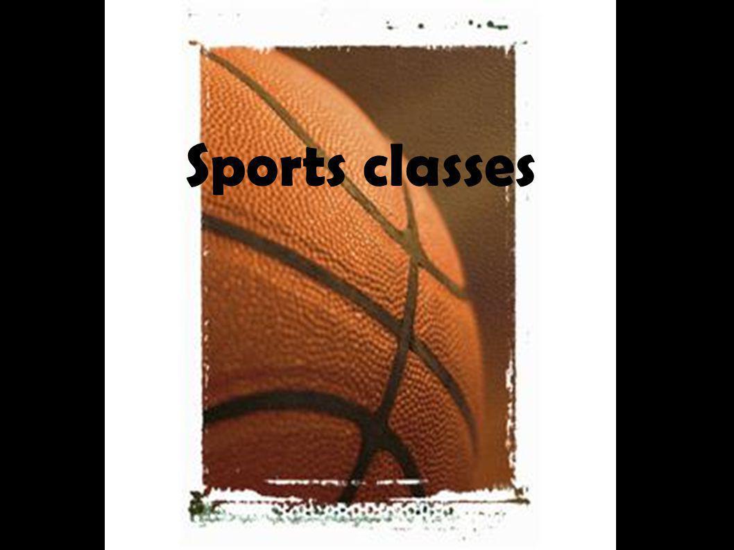 Sports classes