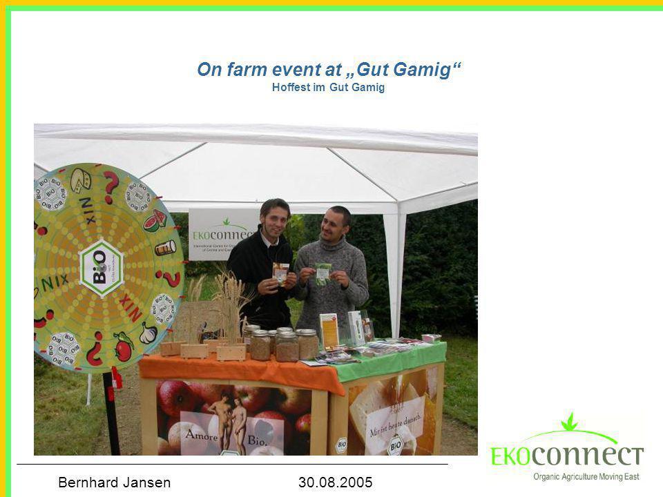 "On farm event at ""Gut Gamig Hoffest im Gut Gamig"