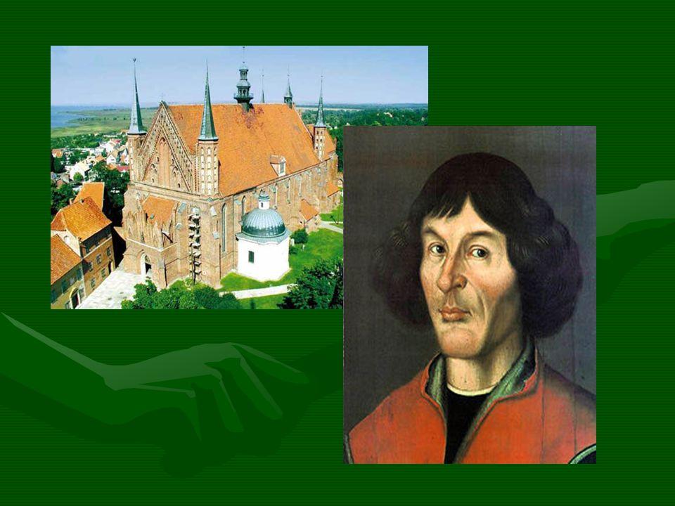 Tu żył i mieszkał Mikołaj Kopernik Copernicus lived here