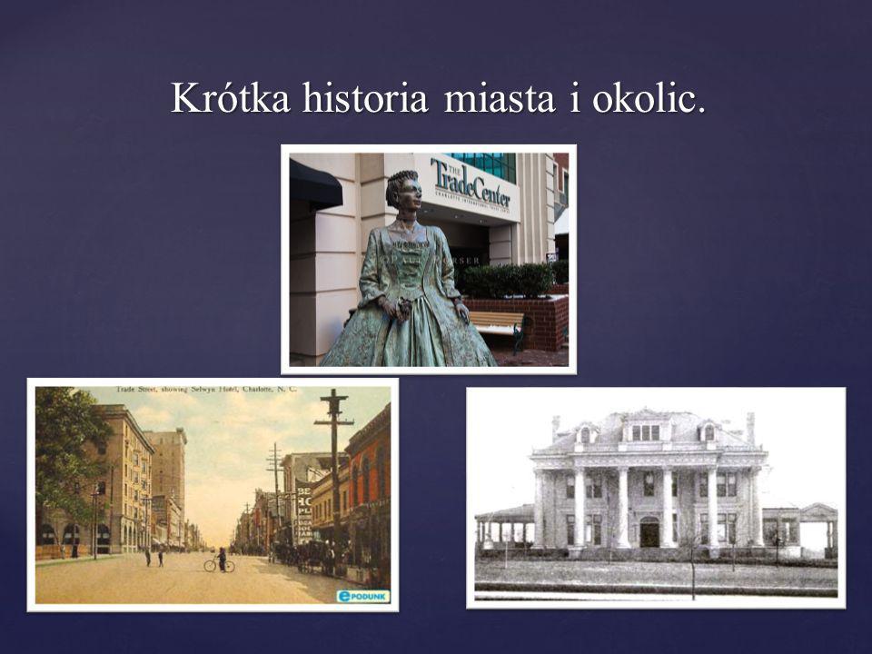 Krótka historia miasta i okolic.