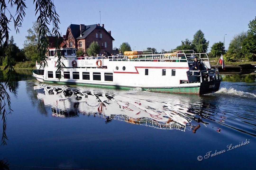 """Przystań statków wycieczkowych """"Białej Floty"""" w Elblągu"""