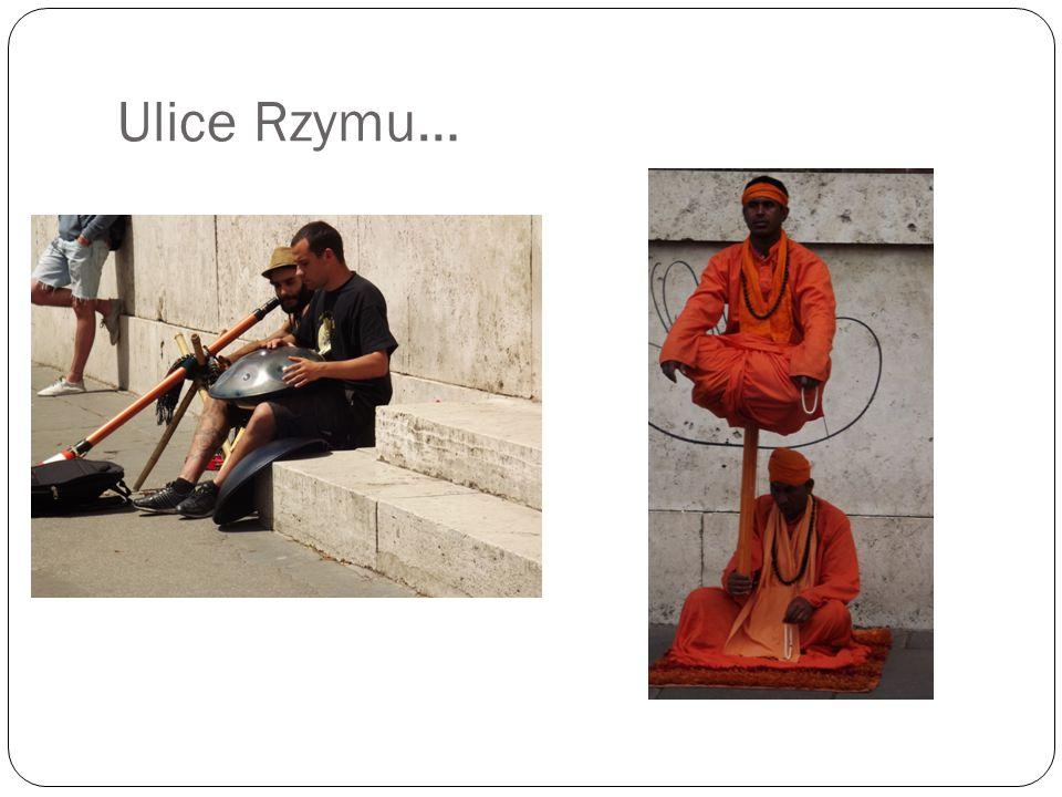 Ulice Rzymu…