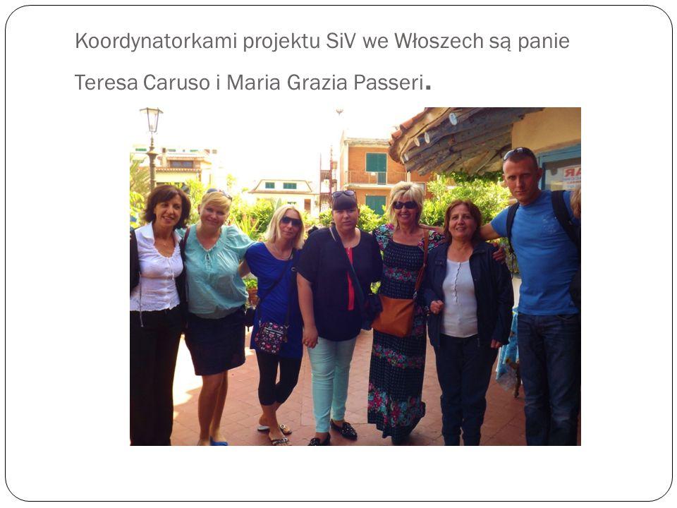 Koordynatorkami projektu SiV we Włoszech są panie Teresa Caruso i Maria Grazia Passeri.