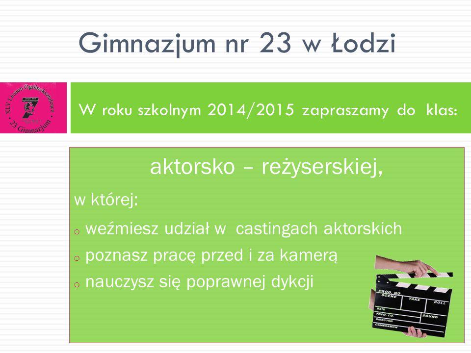 Realizujemy ciekawe projekty międzynarodowe, współpracujemy ze szkołami w: Gimnazjum nr 23 w Łodzi Niemczech, Włoszech, Turcji, Anglii, Francji, Szwecji.