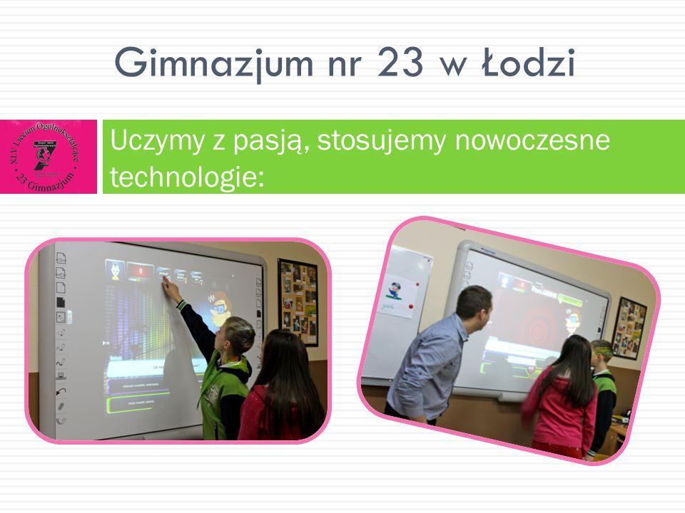www.facebook.com/Gimnaz jum.23.Lodz Zapraszamy do odwiedzenia nas na: www.gim23.szkoly.lodz.pl/ Gimnazjum nr 23 w Łodzi