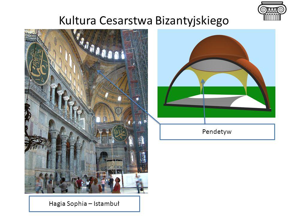 Kultura Cesarstwa Bizantyjskiego Hagia Sophia – Istambuł Pendetyw