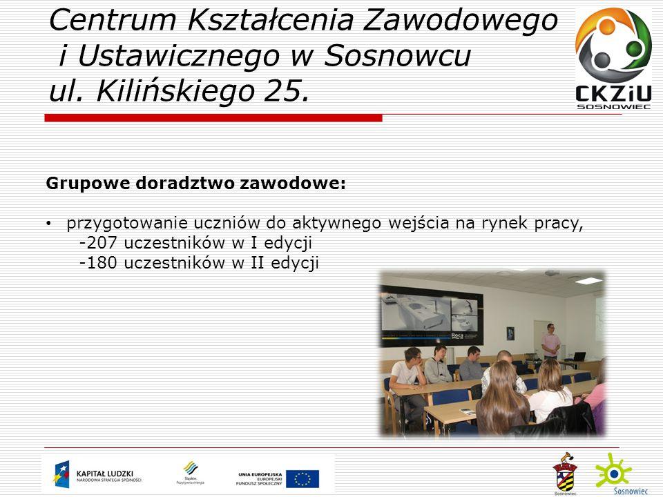 Centrum Kształcenia Zawodowego i Ustawicznego w Sosnowcu ul.