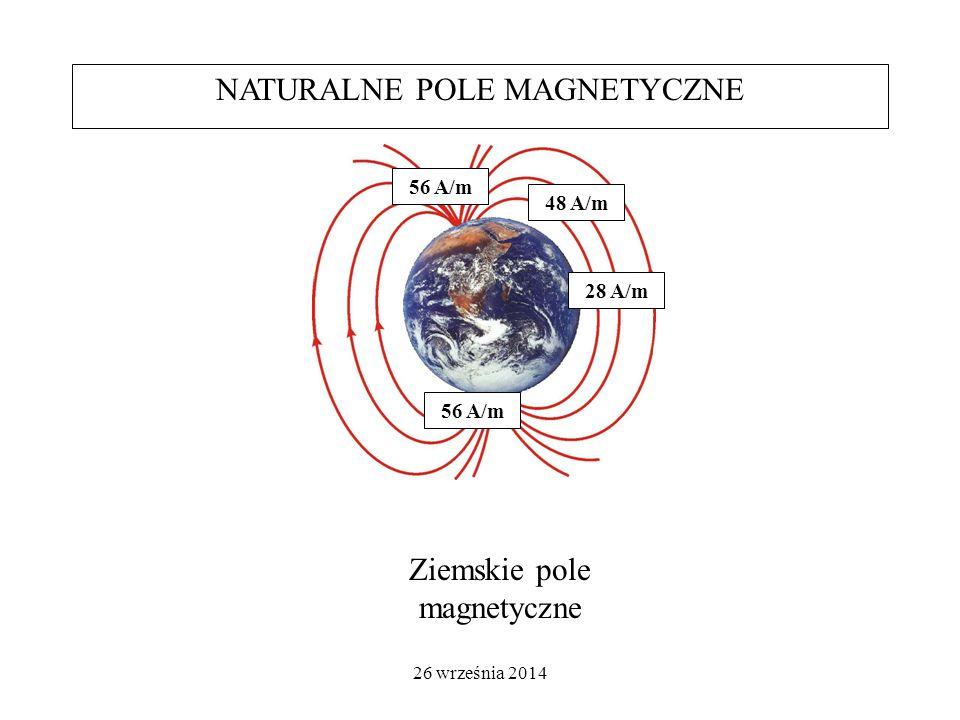 26 września 2014 E/H = 377  = c/f [m] Gęstość mocy S = P/4¶r 2 [W/m 2 ] Impedancja falowa S = E 2 /377 [W/m 2 ] S = 377*H 2 [W/m 2 ]