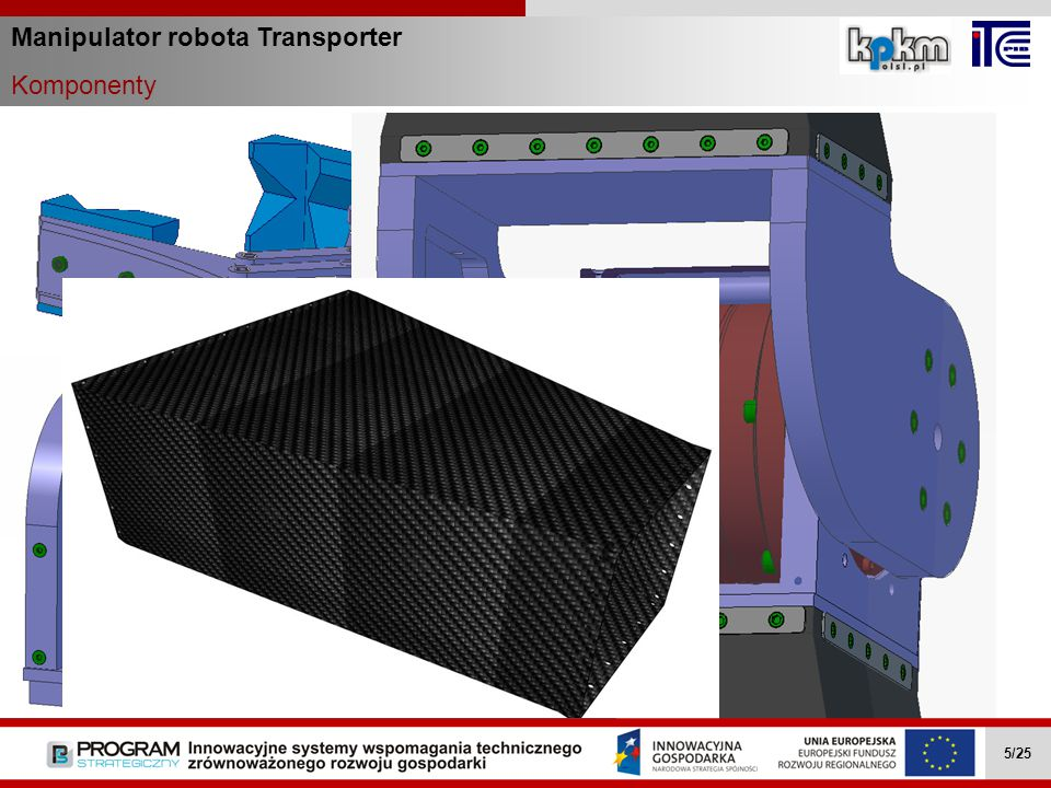 Manipulator robota Transporter Komponenty Wielozadaniowe mobilne roboty … II.4.1 5/27Wielozadaniowe mobilne roboty … II.4.1 5/27 Wielozadaniowe mobiln