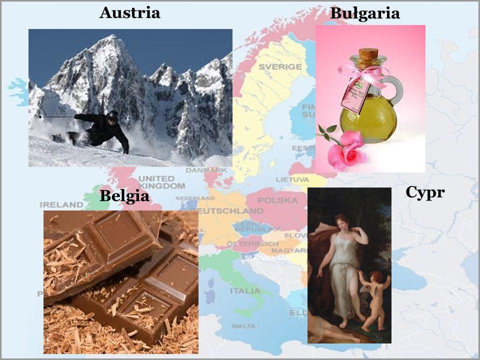 Austria Belgia Bułgaria Cypr