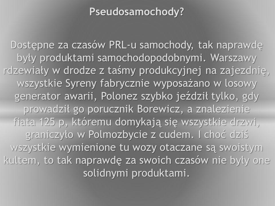 Pseudosamochody.