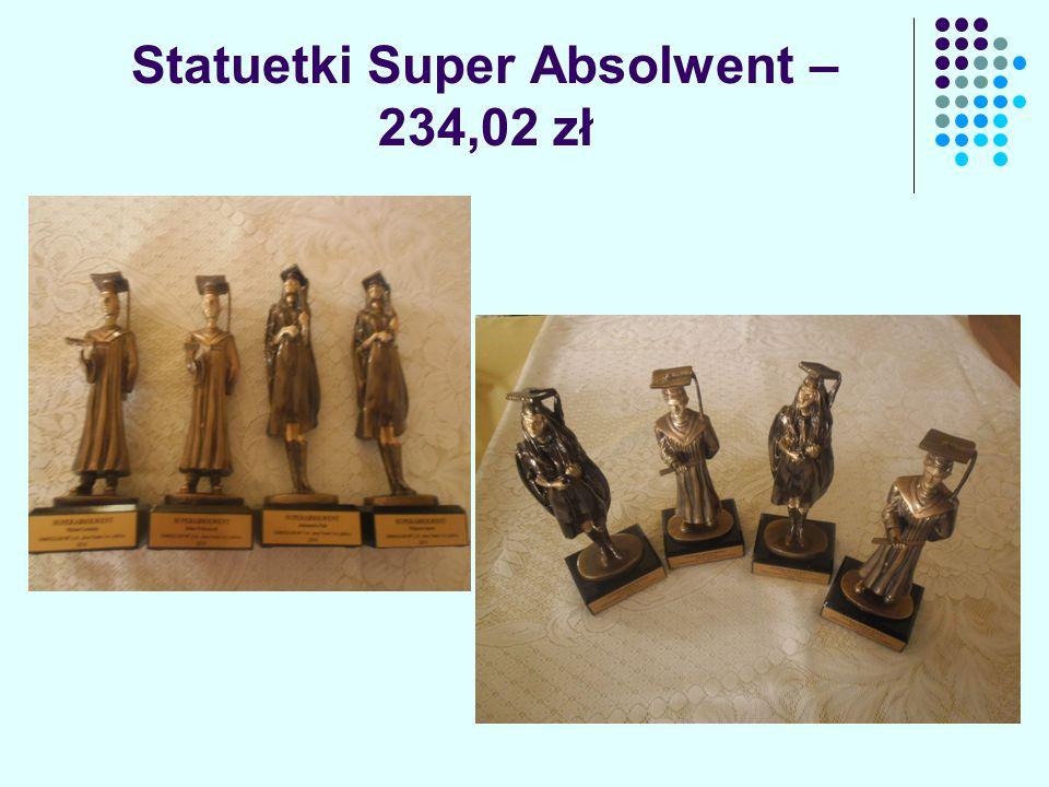 Statuetki Super Absolwent – 234,02 zł