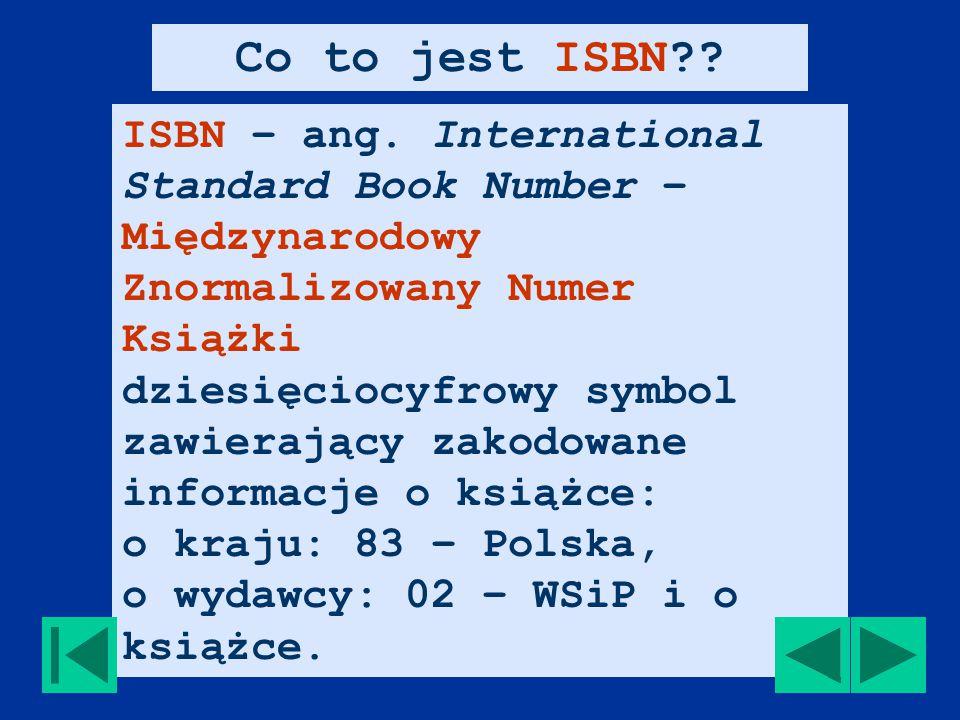 ISBN – ang.