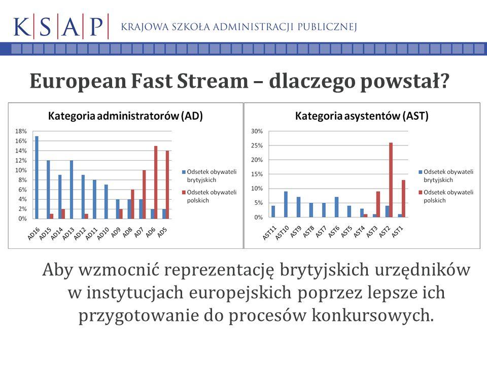 European Fast Stream – dlaczego powstał.