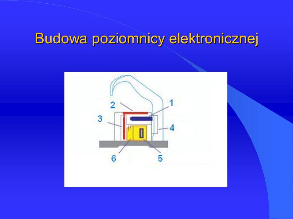 Budowa poziomnicy elektronicznej