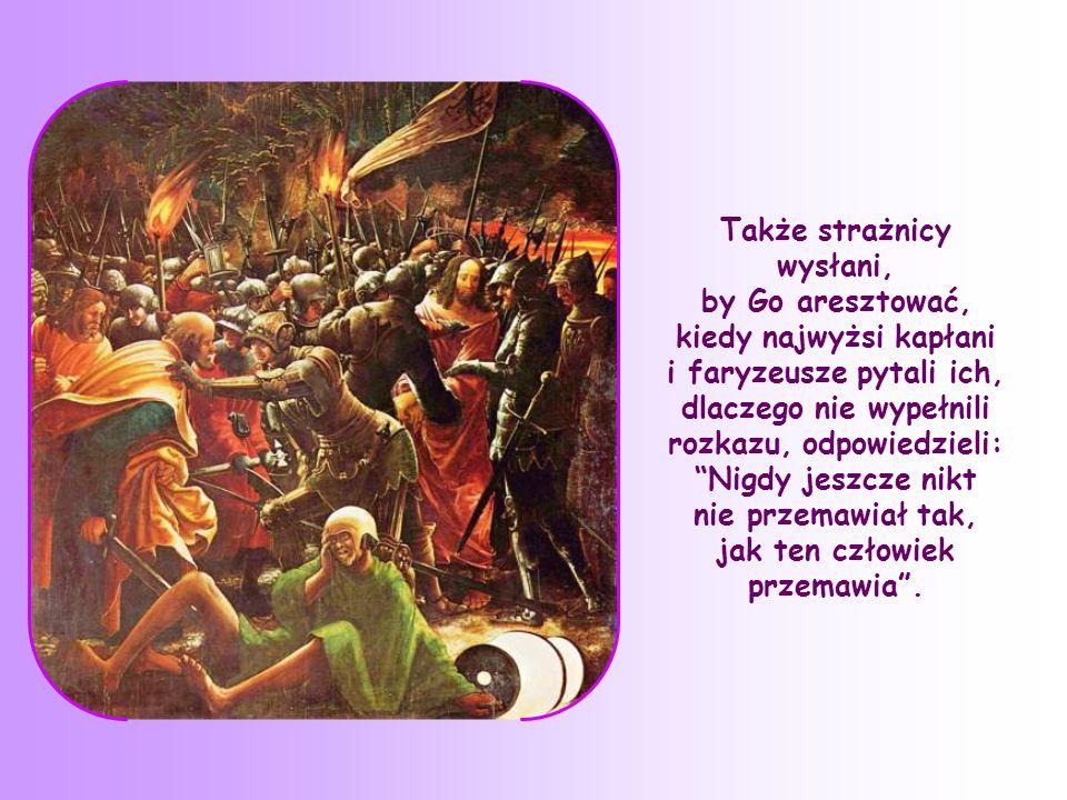 Tłumy ludzi zbiegały się do Jezusa, a On im mówił o Królestwie Bożym.