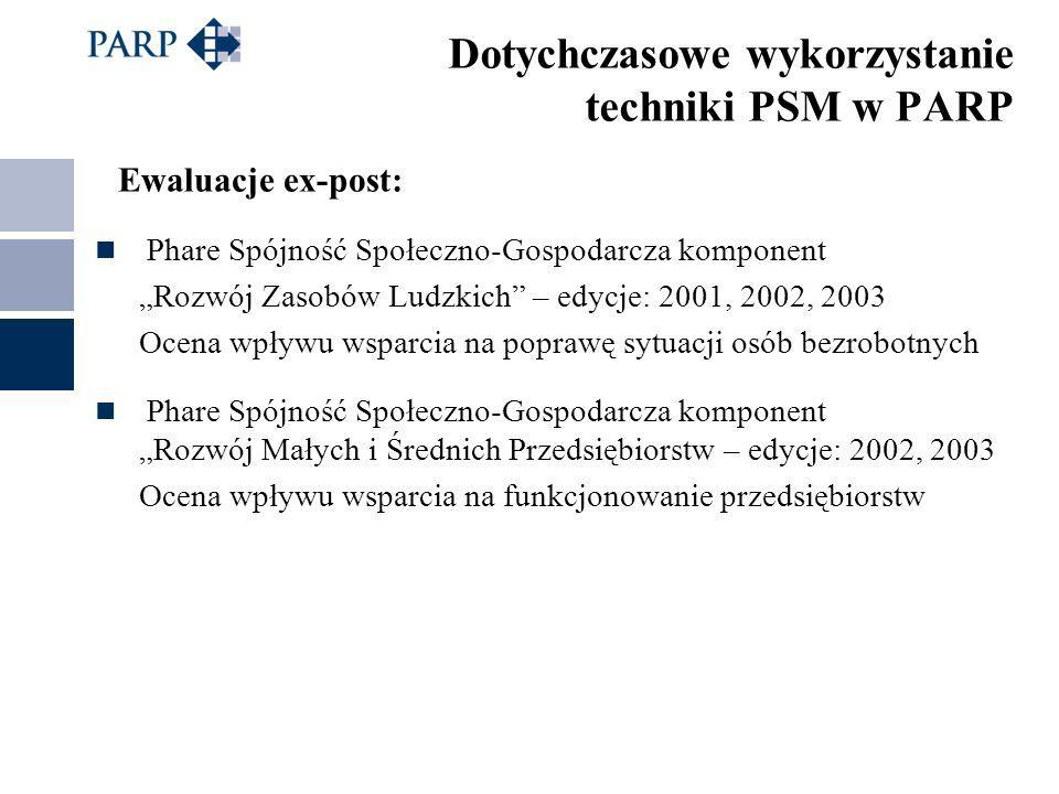 """Ewaluacje ex-post: Phare Spójność Społeczno-Gospodarcza komponent """"Rozwój Zasobów Ludzkich"""" – edycje: 2001, 2002, 2003 Ocena wpływu wsparcia na popraw"""