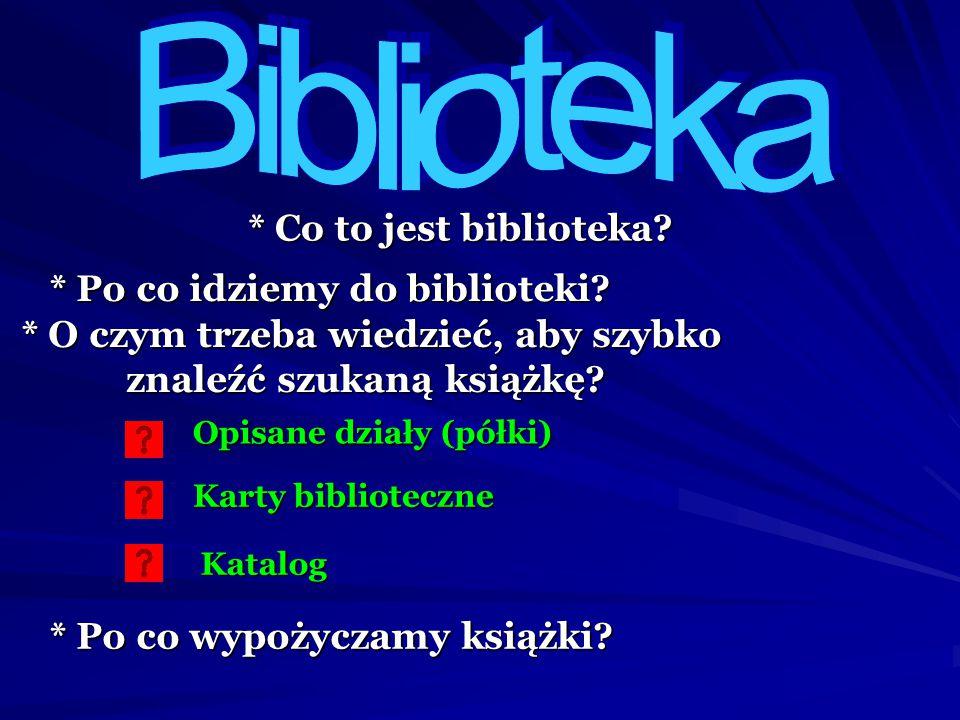 Wykonanie własnej biblio-teki ksiąg Pisma Świętego Poukładaj na pustych półkach księgi Pisma Świętego w kolejności, podpisując każdą z nich Stary Testament Nowy Testament