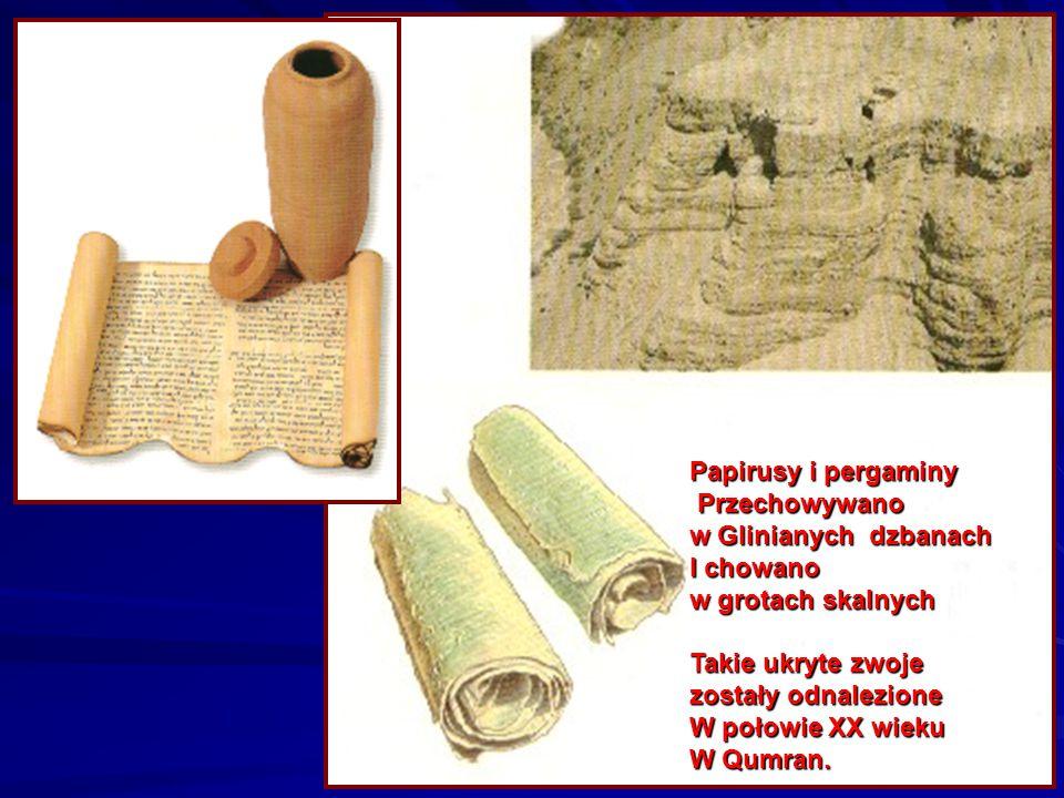 Pergamin Zrobiony z koźlej skóry. Pięć ksiąg Mojżeszowych