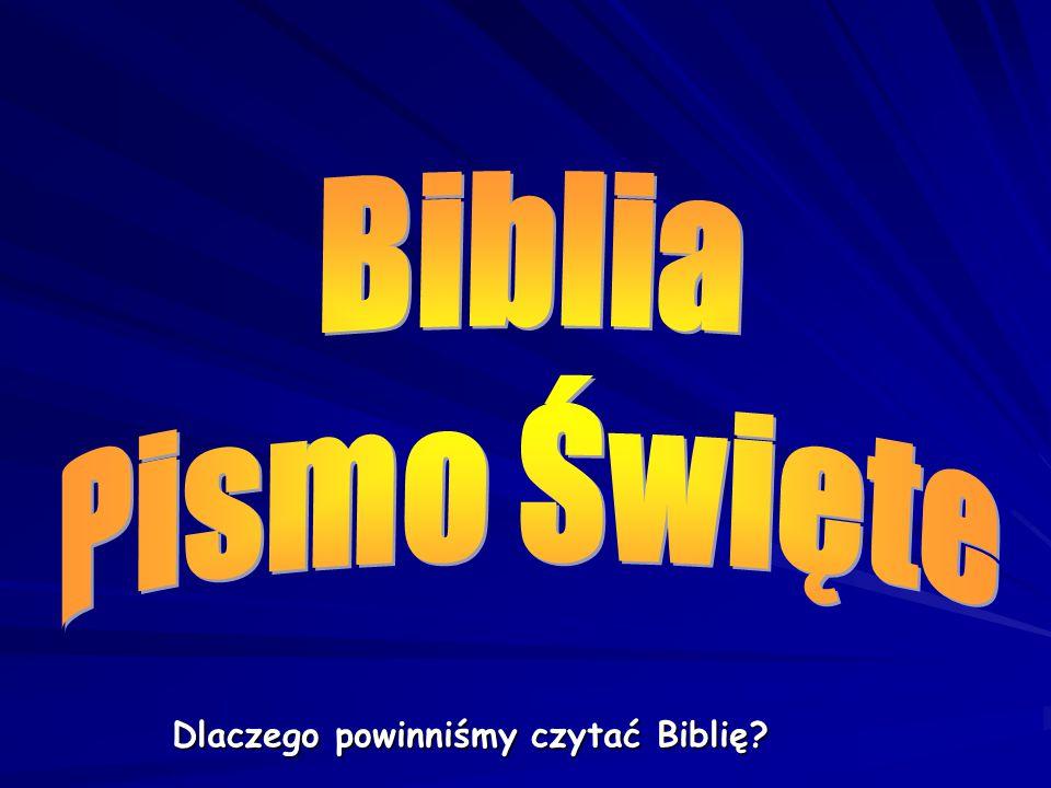 Potem mnisi przepisywali Biblię.To trwało bardzo długo, nawet wiele lat.