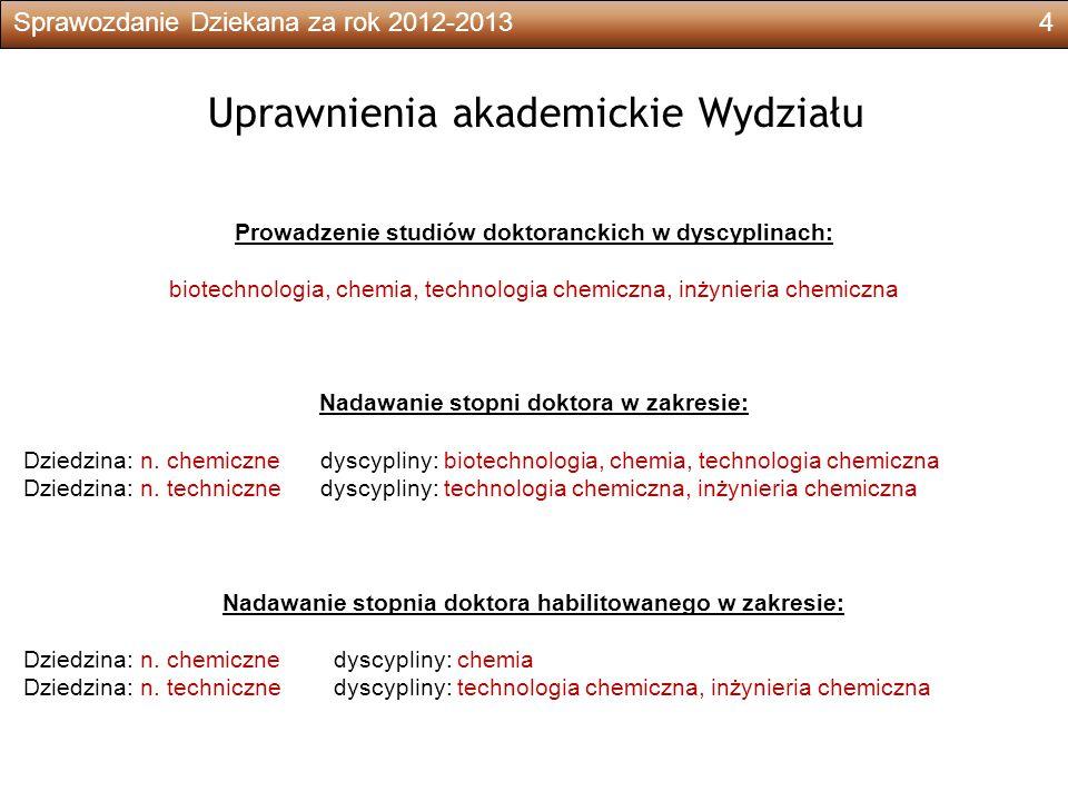 Sprawozdanie Dziekana za rok 2012-201325 Projekty europejskie i specjalne programy badawcze L.pNazwa projektu, nazwisko kierownikaCzas trwaniaŚrodki planowane 1.