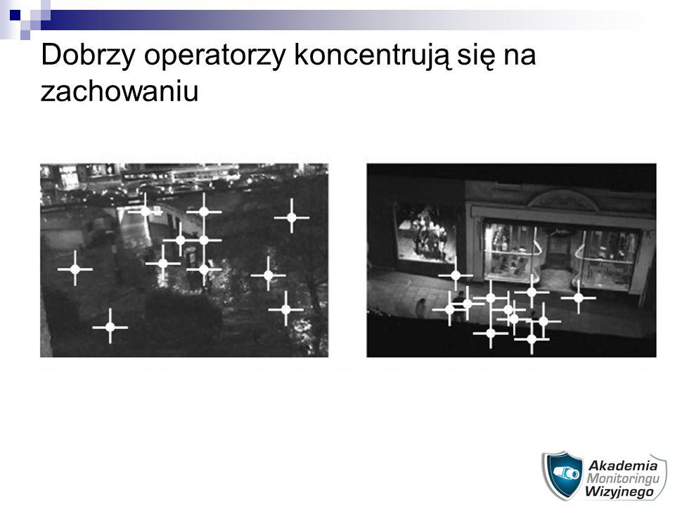 Dobrzy operatorzy koncentrują się na zachowaniu