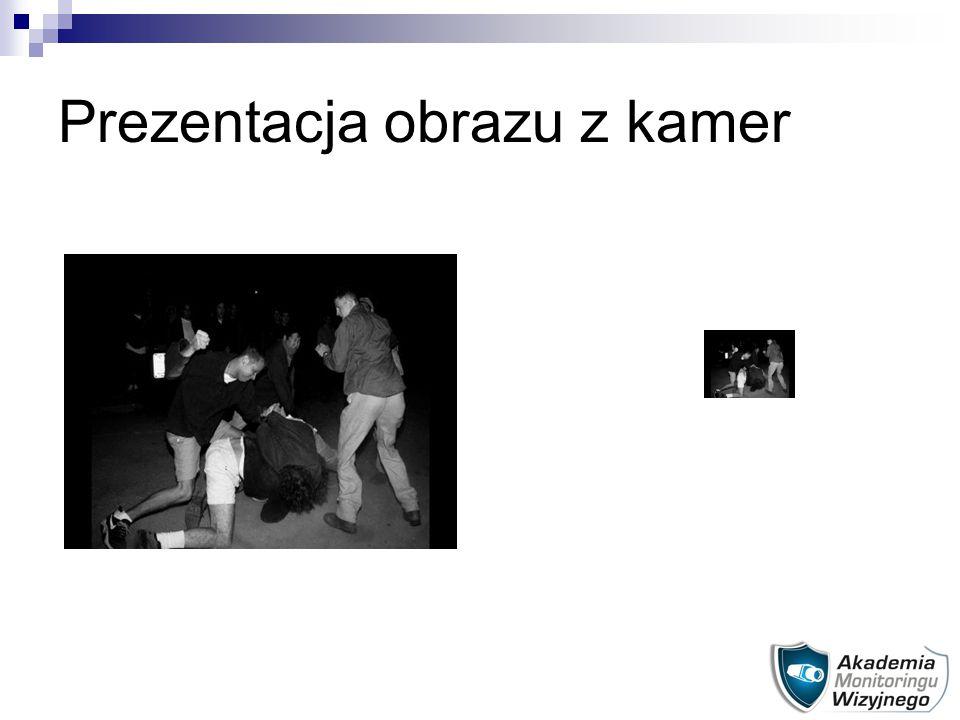 Prezentacja obrazu z kamer