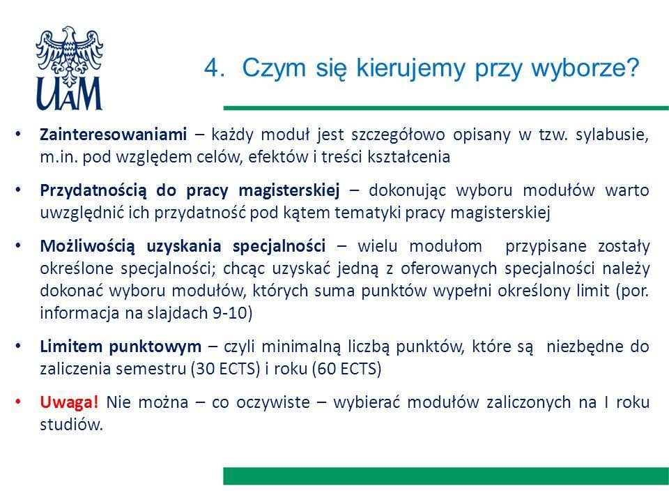 5.Jaką i jak można uzyskać specjalność.