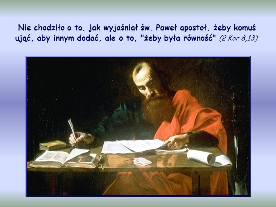To jest doświadczenie pierwszych chrześcijan z Jerozolimy: Jeden duch i jedno serce ożywiały wszystkich, którzy wierzyli.