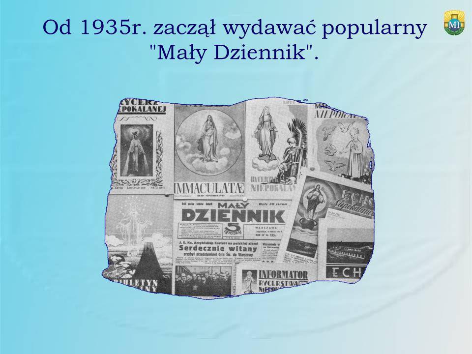 Od 1935r. zaczął wydawać popularny