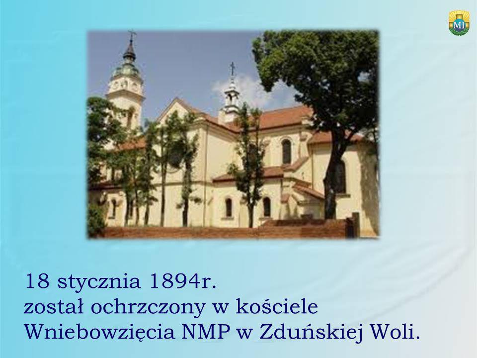 Od stycznia 1922r.wydawał w Krakowie miesięcznik Rycerz Niepokalanej .
