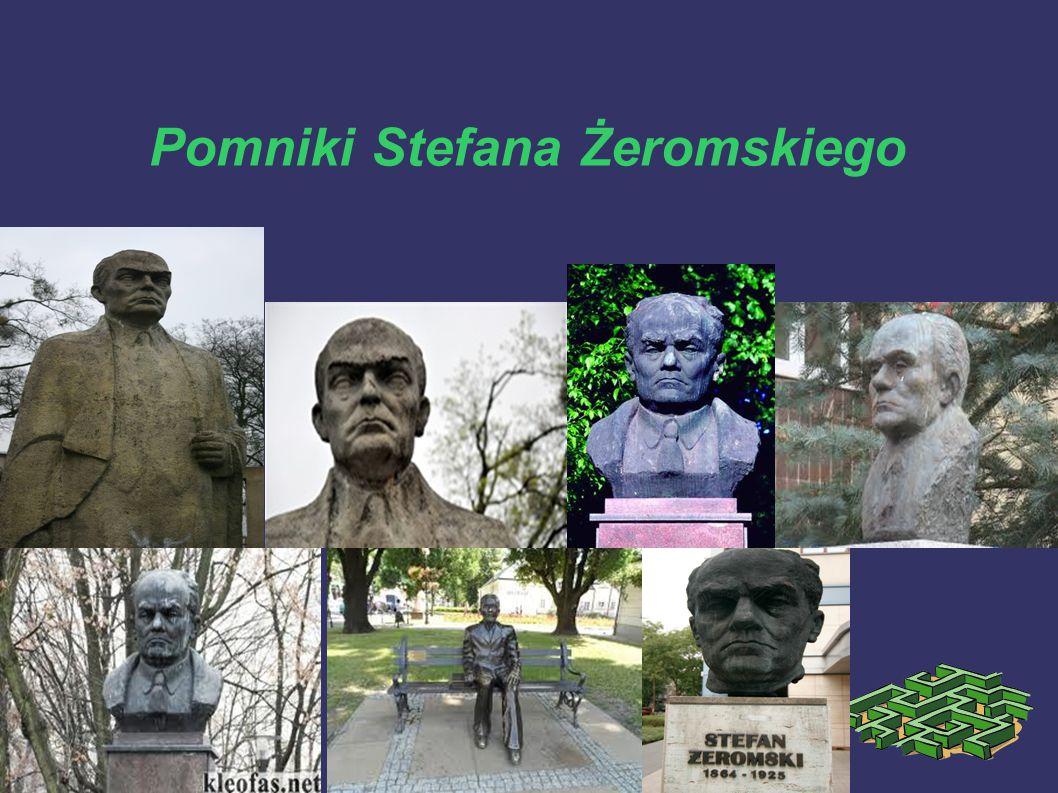 Pomniki Stefana Żeromskiego