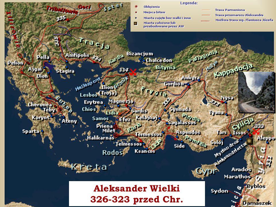 WYŻSZA SZKOŁA INFORMATYKI I ZARZĄDZANIA z siedzibą w Rzeszowie 7 piątek, 12 grudnia 2014piątek, 12 grudnia 2014piątek, 12 grudnia 2014piątek, 12 grudnia 2014 Rzeszów Aleksander Wielki 326-323 przed Chr.