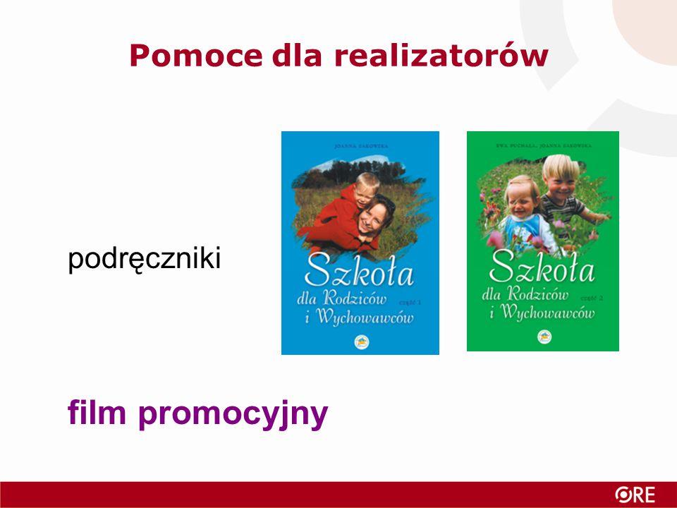 Pomoce dla realizatorów podręczniki film promocyjny