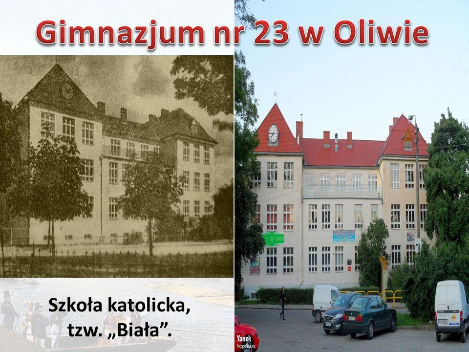 """Szkoła katolicka, tzw. """"Biała ."""