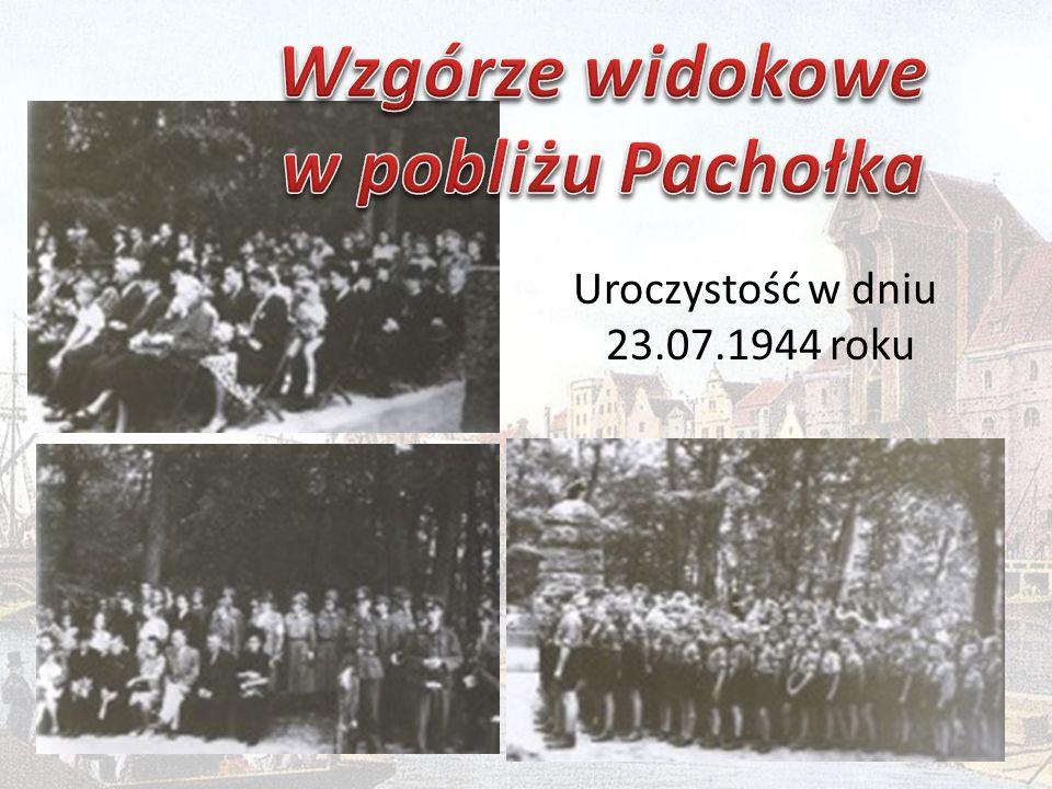 Uroczystość w dniu 23.07.1944 roku