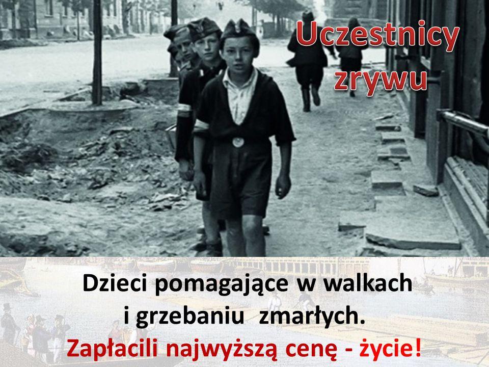 Dzieci pomagające w walkach i grzebaniu zmarłych. Zapłacili najwyższą cenę - życie!
