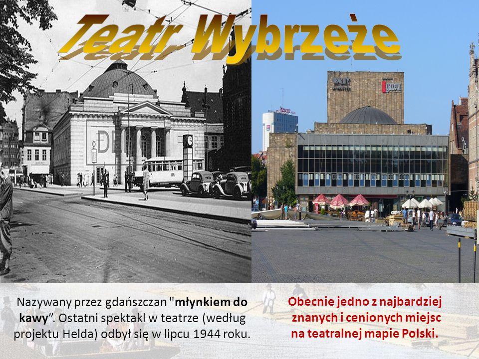 Ratusz Głównego Miasta po zniszczeniach wojennych Obecnie główna siedziba Muzeum Historycznego Miasta Gdańska