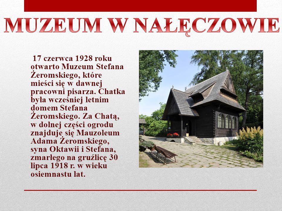 17 czerwca 1928 roku otwarto Muzeum Stefana Żeromskiego, które mieści się w dawnej pracowni pisarza. Chatka była wcześniej letnim domem Stefana Żeroms