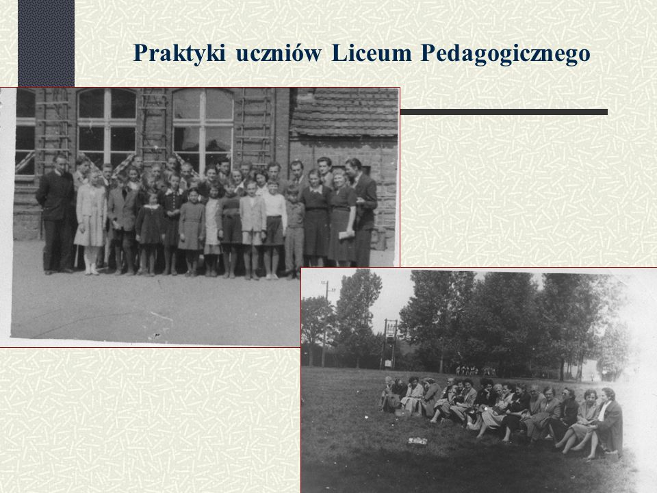 Praktyki uczniów Liceum Pedagogicznego