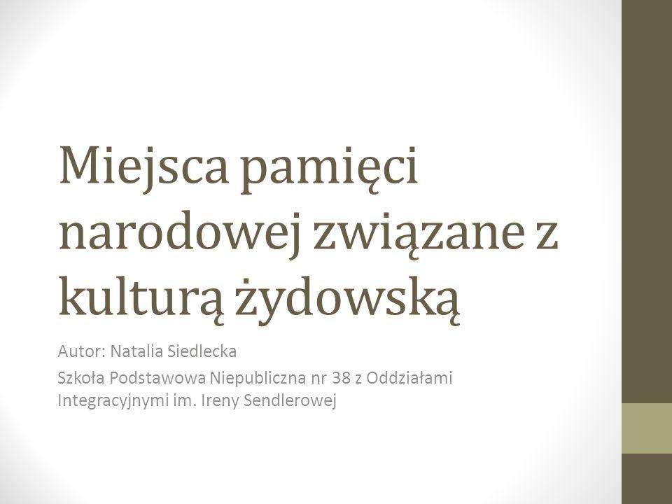 Laureaci Konkursu Multimedialnego. W kategorii szkół podstawowych: MIEJSCE 2 Natalia Siedlecka, Szkoła Podstawowa Niepubliczna nr 38 im. I. Sendlerowe