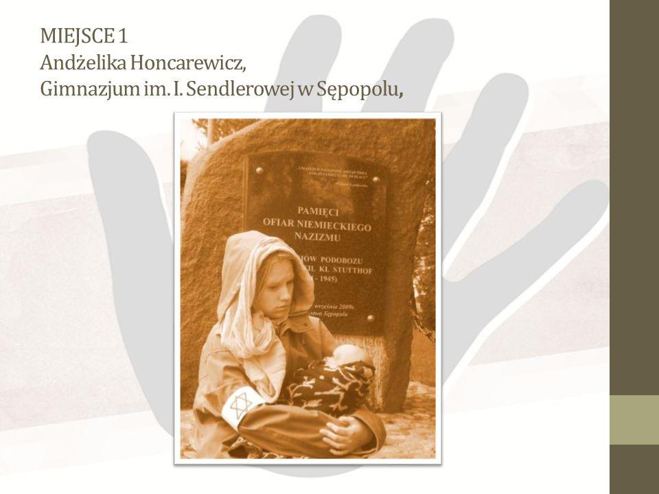 MIEJSCE 2 Anna Brzezińska, Szkoła Podstawowa nr 19 im. I. Sendlerowej w Kielcach