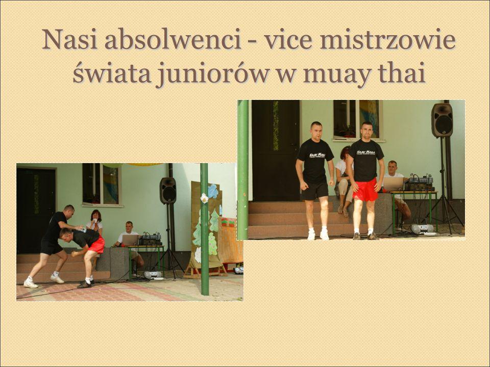 Nasi absolwenci - vice mistrzowie świata juniorów w muay thai