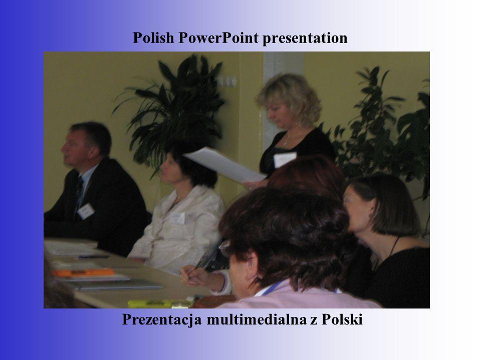 Turkish PowerPoint presentation. Prezentacja multimedialna z Turcji.