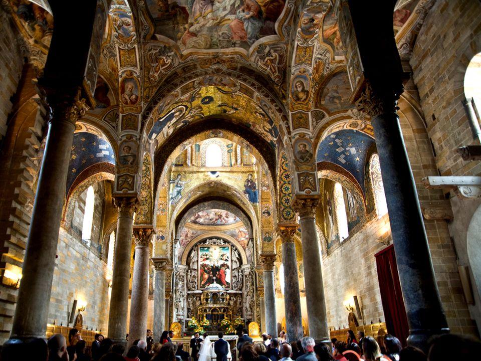 Chiesa Martorana Palermo, Sycylia, Kościół ufundowany w 1143 r.