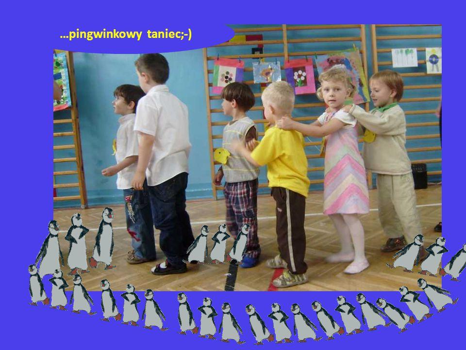 …pingwinkowy taniec;-)