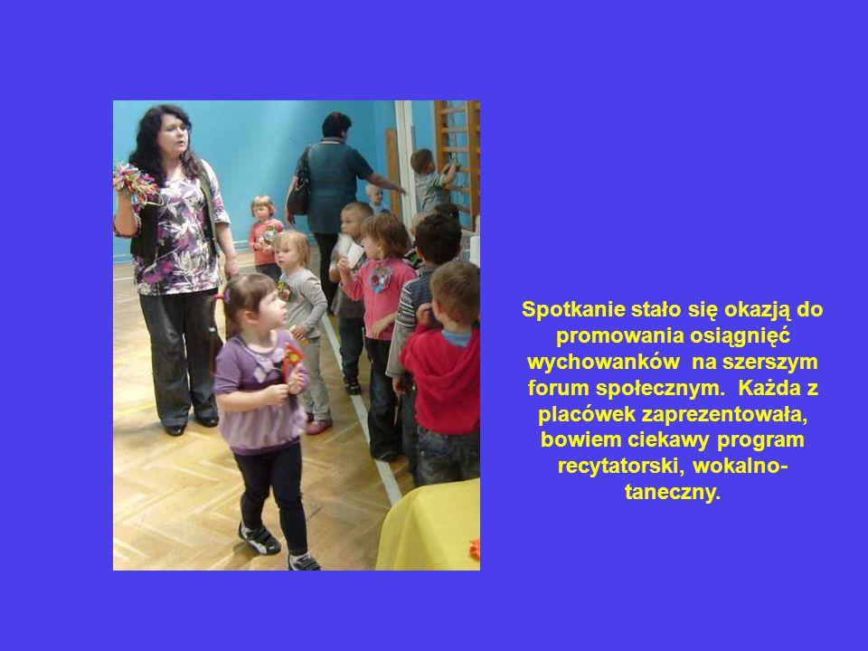 Spotkanie stało się okazją do promowania osiągnięć wychowanków na szerszym forum społecznym.