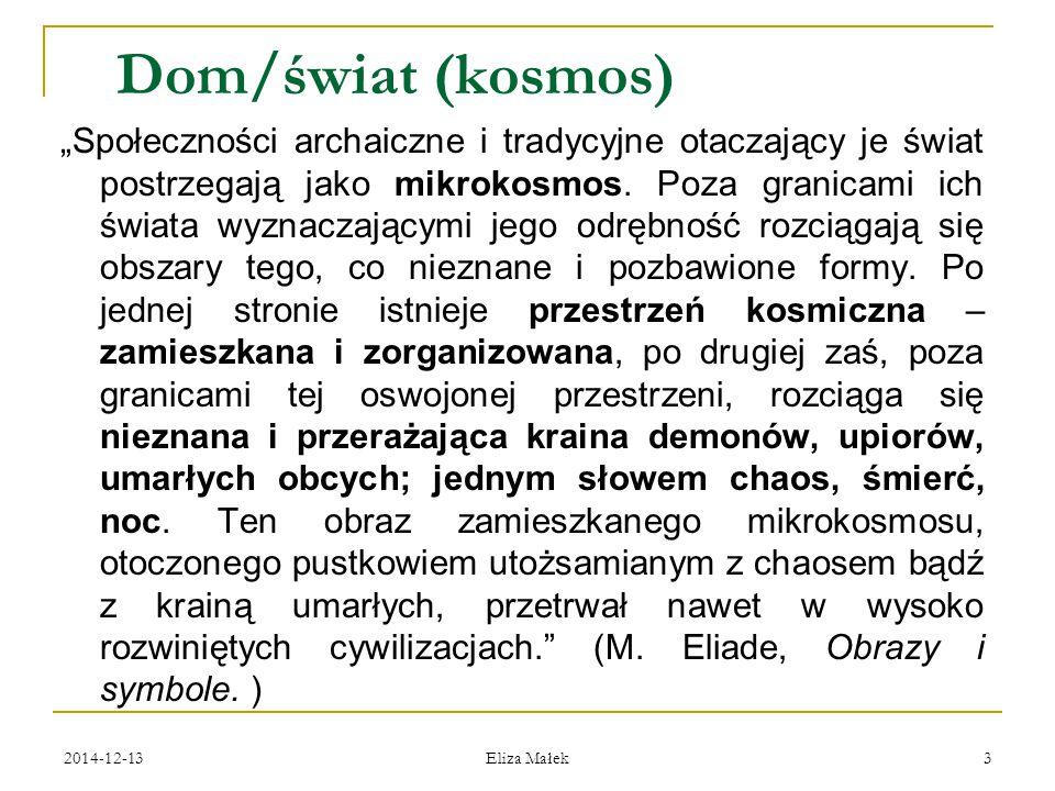 2014-12-13 Eliza Małek 34 Izba paradna (biała) (горница) domu rodziców Jesienina