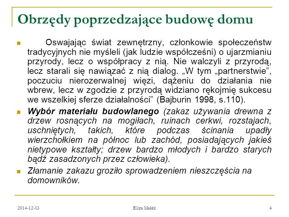 2014-12-13 Eliza Małek 45 Все, что в печи, на стол мечи.