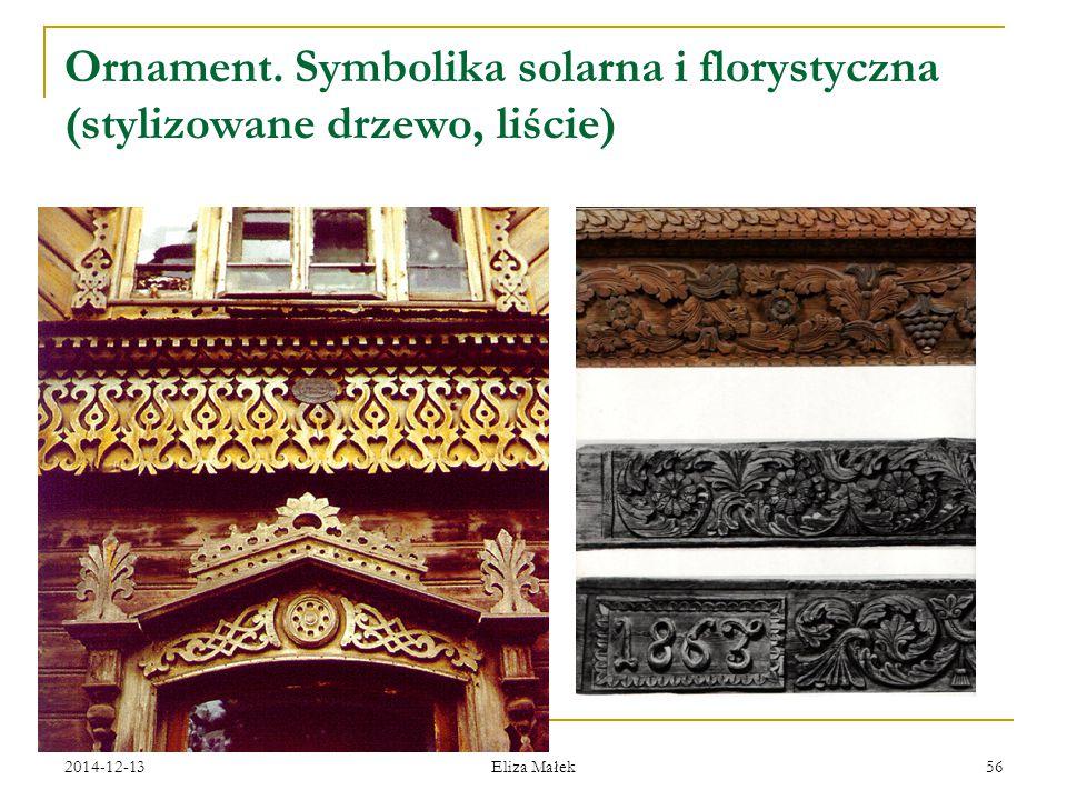 2014-12-13 Eliza Małek 56 Ornament. Symbolika solarna i florystyczna (stylizowane drzewo, liście) )